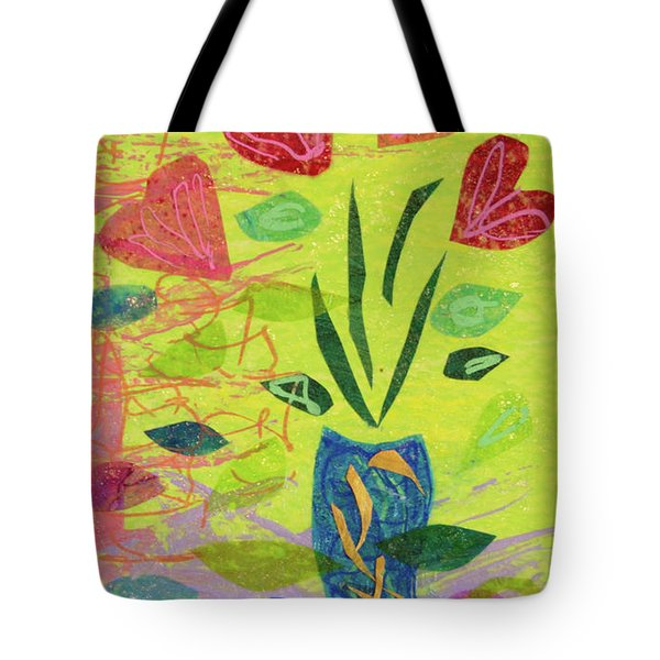 Vase Full Of Love Tote Bag