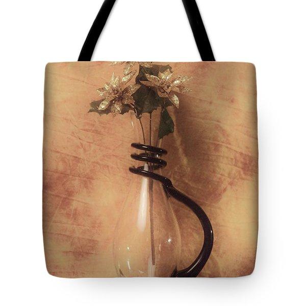 Vase Of Gold Tote Bag