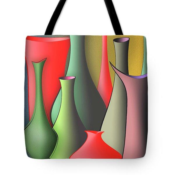 Vases Still Life Tote Bag by Ben and Raisa Gertsberg