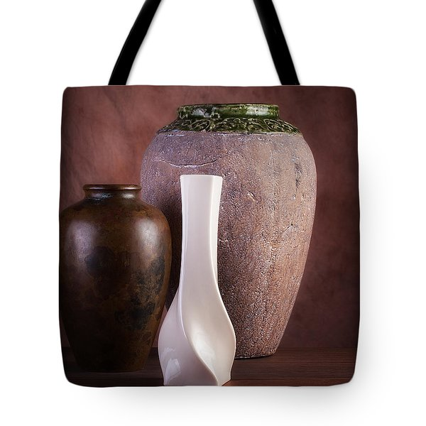 Vases With A Twist Tote Bag