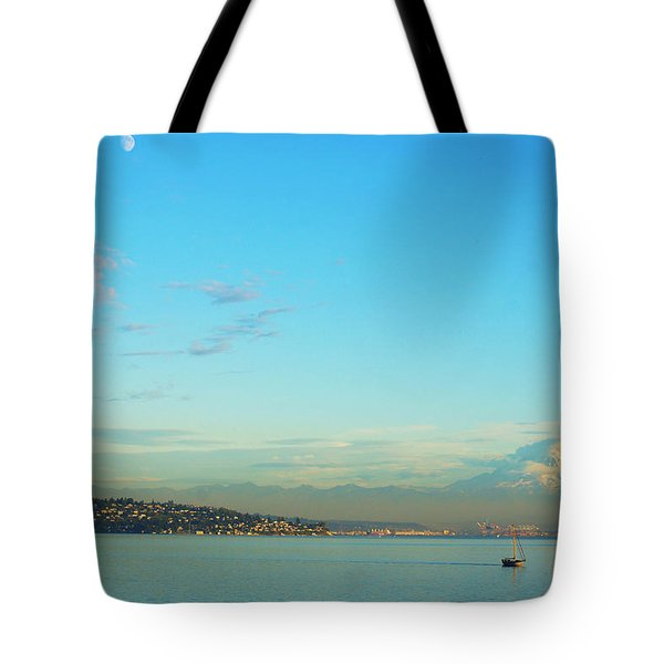 Tote Bag featuring the photograph Vashon Island by Angi Parks