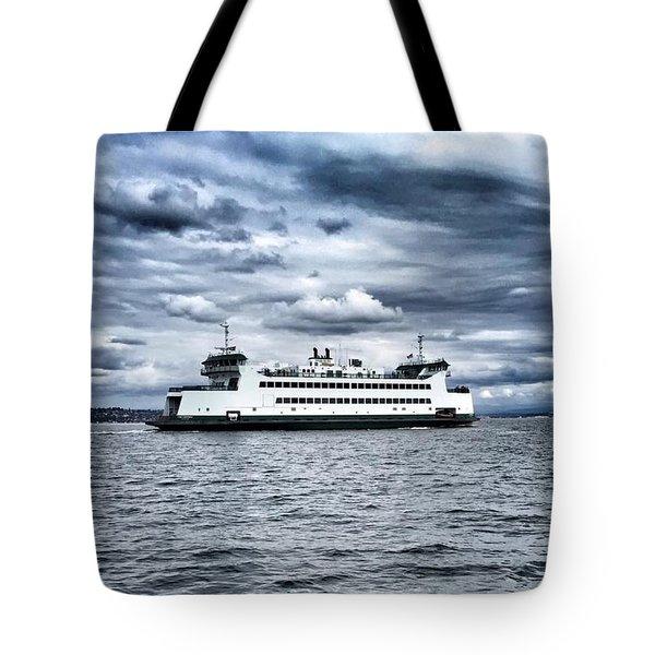 Vashon Island Ferry Tote Bag
