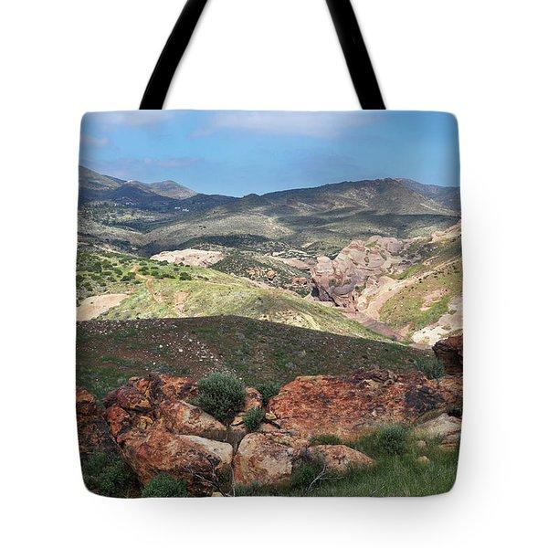 Vasquez Rocks Park Tote Bag