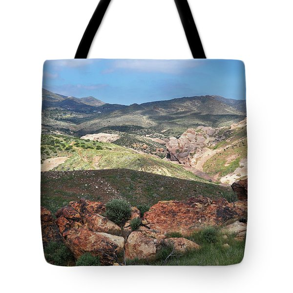 Vasquez Rocks Park Tote Bag