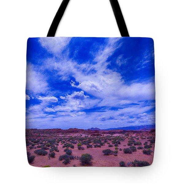 Vast Desert Sky Tote Bag