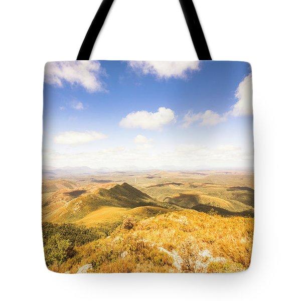 Vast Expanse Of Wonderful Countryside Tote Bag