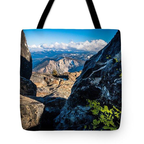 Vastly Majestic High Sierras Tote Bag
