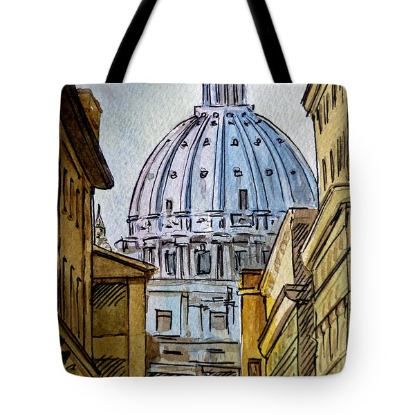 Vatican City Tote Bag