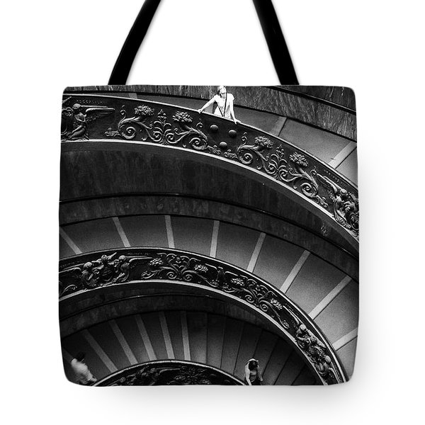 Vatican Stairs Tote Bag