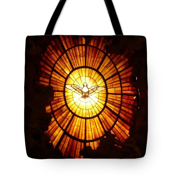 Vatican Window Tote Bag by Carol Groenen