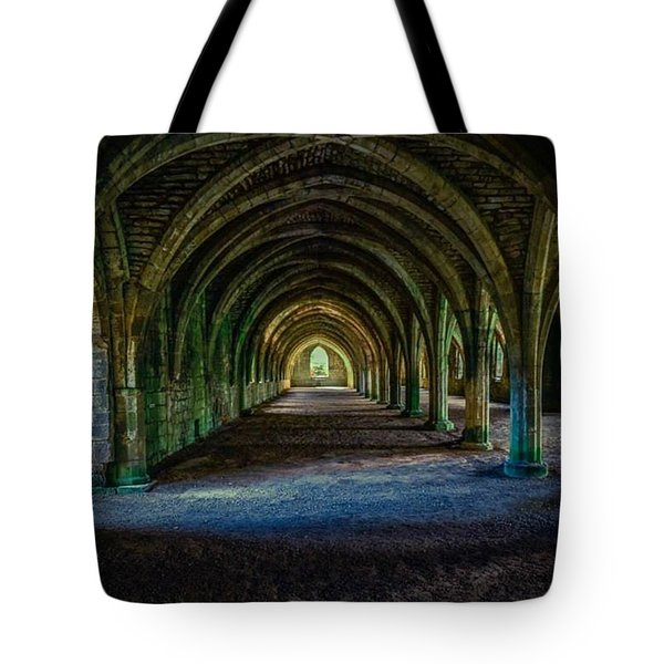 Vaulted, Fountains Abbey, Yorkshire, United Kingdom Tote Bag