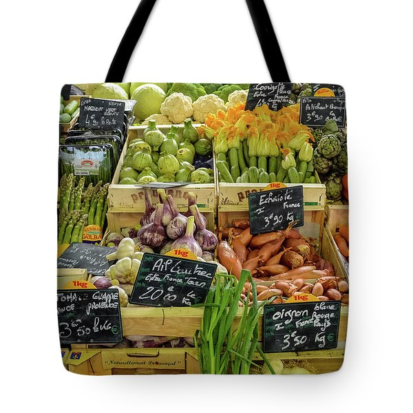 Veg At Marche Provencal Tote Bag