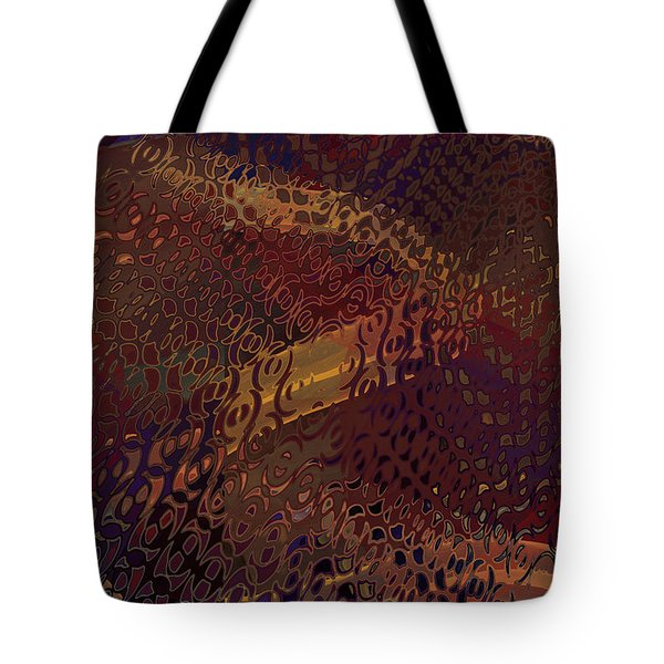 Vegas Carpet Tote Bag