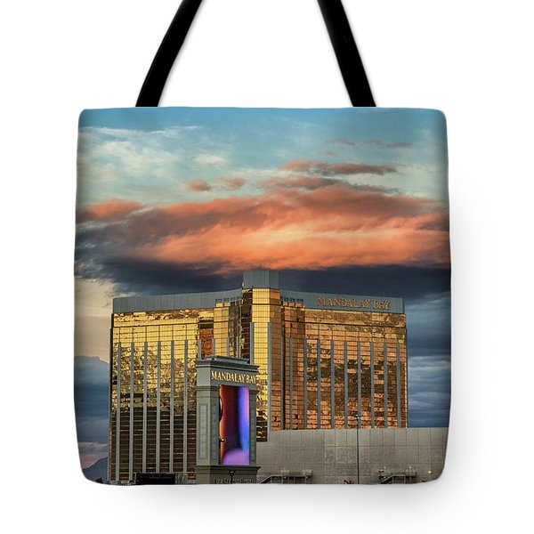 Tote Bag featuring the photograph Vegas by Michael Rogers