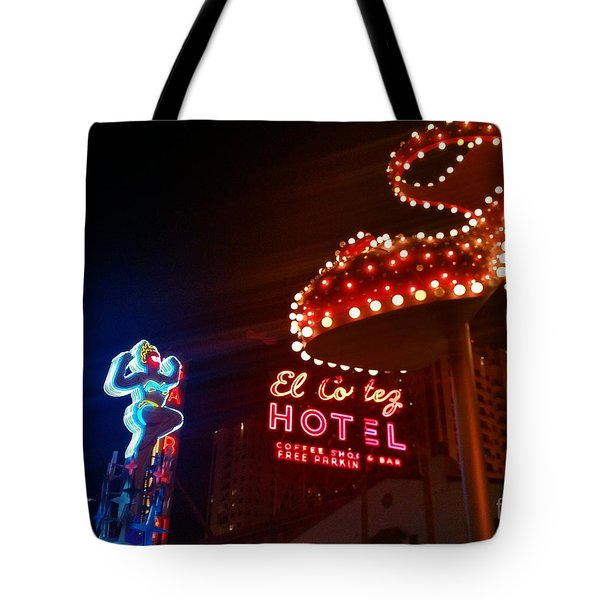Vegas Neon Tote Bag
