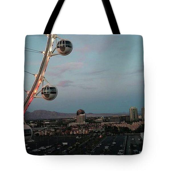 Vegas Strip Tote Bag