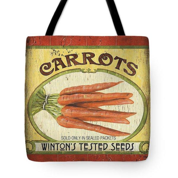 Veggie Seed Pack 4 Tote Bag