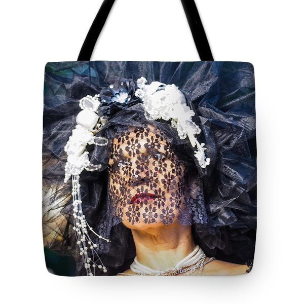 Veiled Lady Tote Bag