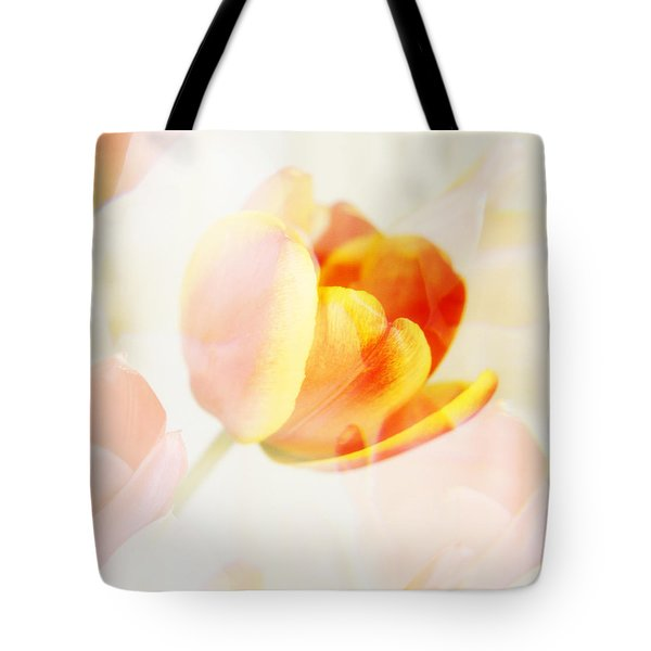 Veiled Tulip Tote Bag