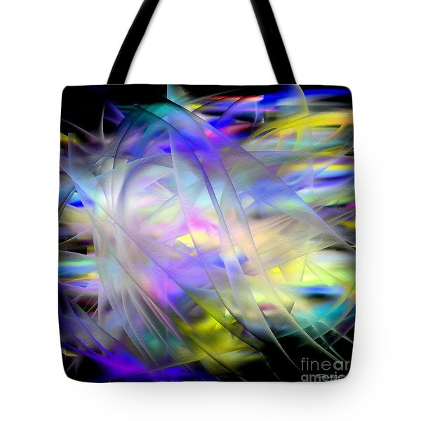 Veils Of Color Tote Bag