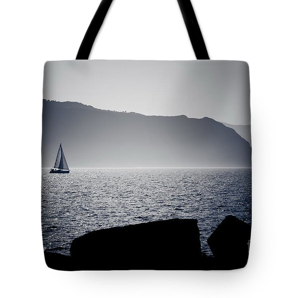 Tote Bag featuring the pyrography Vela by Bruno Spagnolo