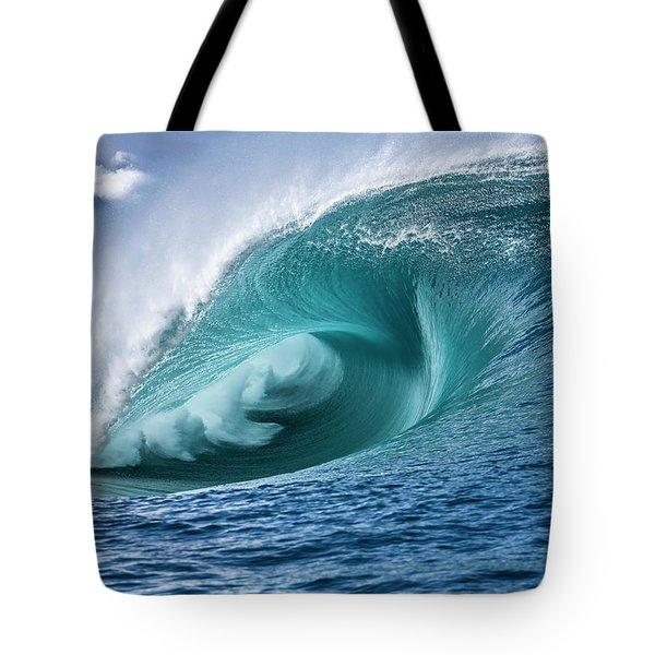 Velocity Curl Tote Bag