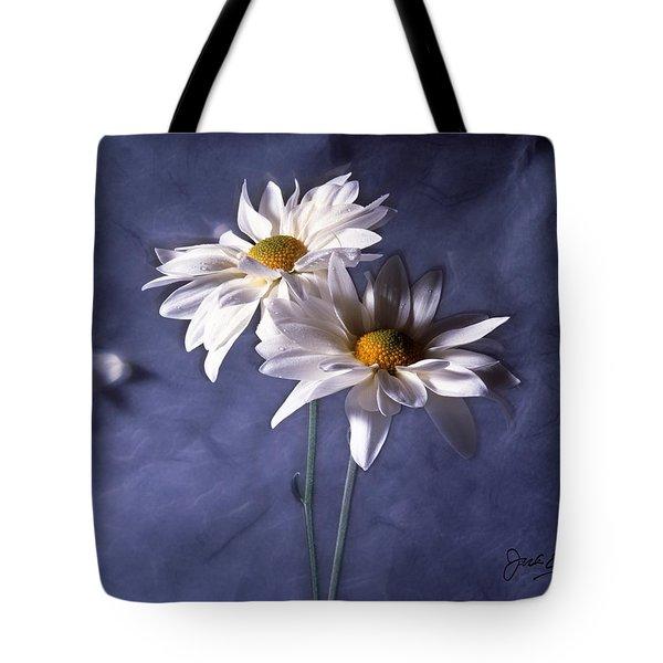 Velvet Daisies Tote Bag by Jack Eadon