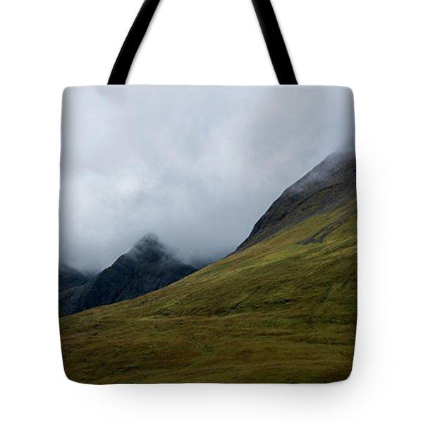 Velvet Hills In The Mist Tote Bag