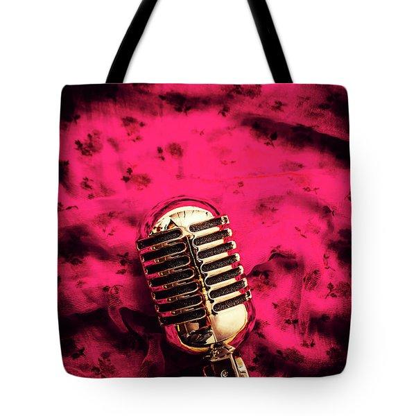 Velvet Jazz Show Tote Bag