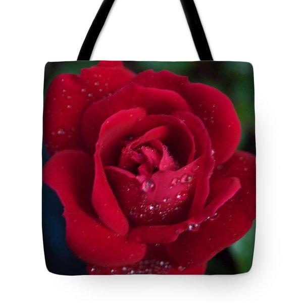 Velvet Red Tote Bag