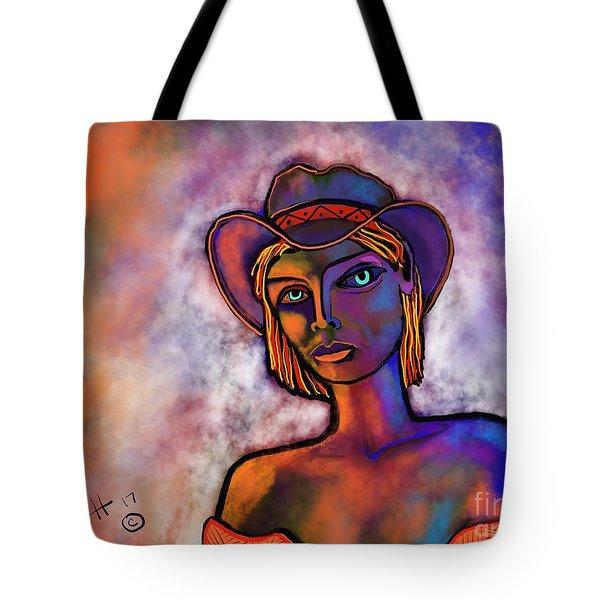 Velvet Squeeze Tote Bag by Hans Magden
