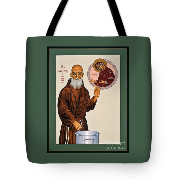 Venerable Fr. Solanus Casey The Healer 038 Tote Bag