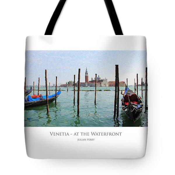 Venetia - At The Waterfront Tote Bag