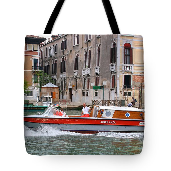 Venetian Ambulance Tote Bag