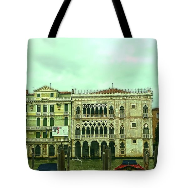 Tote Bag featuring the photograph Venetian Aternoon by Anne Kotan