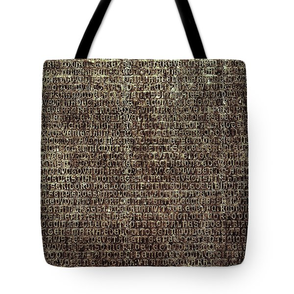 Tote Bag featuring the photograph Venetian Babel by Anne Kotan