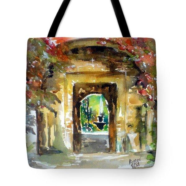 Venetian Gardens Tote Bag