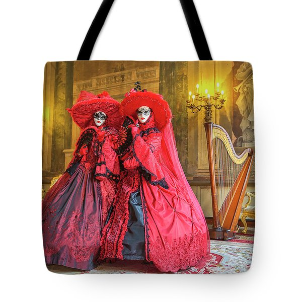 Venetian Ladies In The Palace Tote Bag