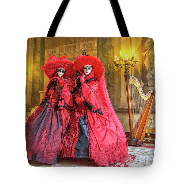 Venetian Ladies In The Palace Tote Bag
