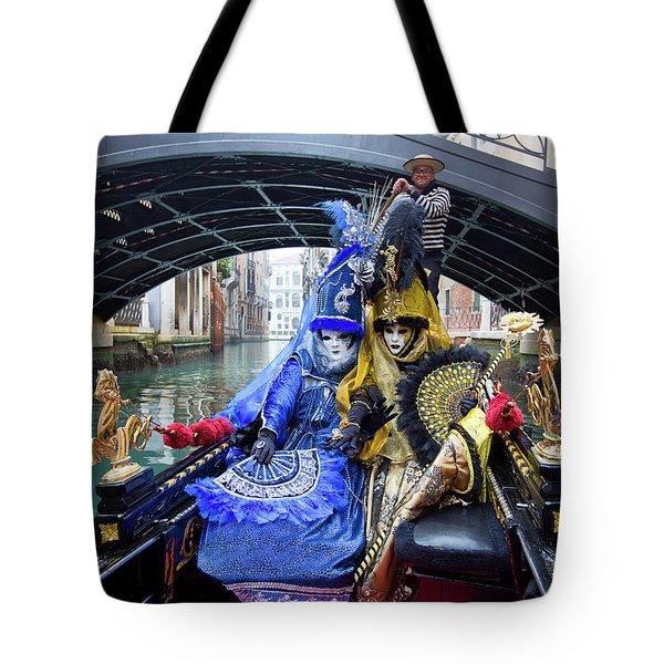 Venetian Ladies On A Gondola Tote Bag