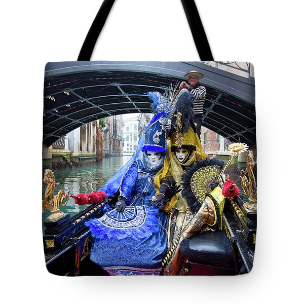 Venetian Ladies On A Gondola Tote Bag