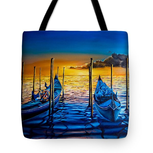 Venetian Lights 7 Tote Bag
