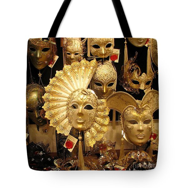Venetian Masks Tote Bag