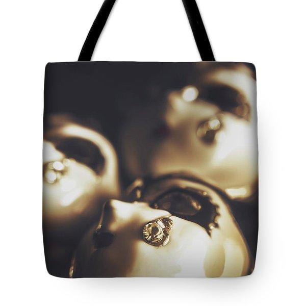 Venetian Masquerade Mask Rings Tote Bag