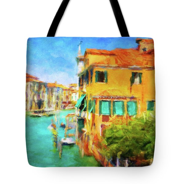Tote Bag featuring the photograph Venezia Afternoon by Connie Handscomb