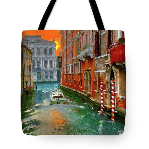 Venezia. Ca'gottardi Tote Bag