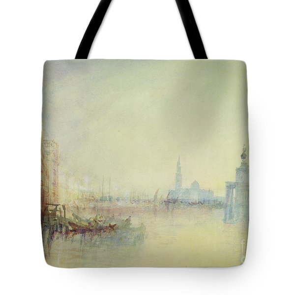 Venice - The Mouth Of The Grand Canal Tote Bag by Joseph Mallord William Turner