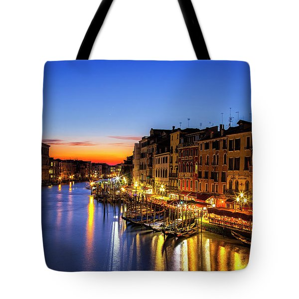 Venice At Twilight Tote Bag