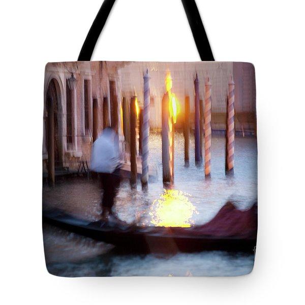 Venice Blue Hour 1 Tote Bag by Heiko Koehrer-Wagner