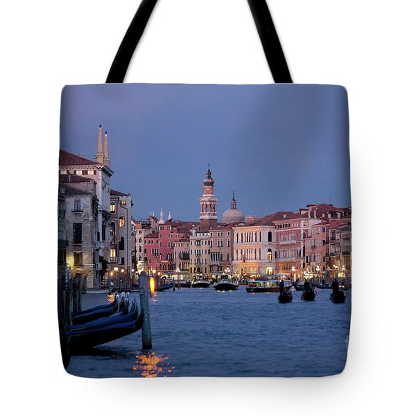 Venice Blue Hour 2 Tote Bag by Heiko Koehrer-Wagner